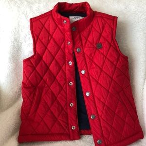 Lined Janie and Jack puffer vest NWOT size 3-4yrs
